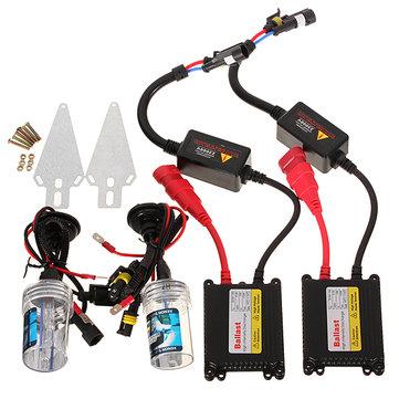 35W HID Xenon Kit H7 8000k Car Headlight Silm Ballast