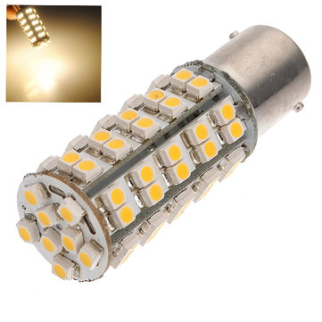 SMD LED Warm White P21W BA15S 382 Car Indicator Tail Light Bulb