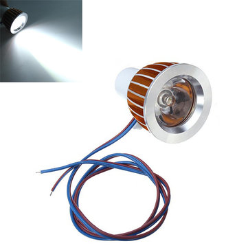 12V 5W Motorcycle Car LED Light Day Spot Lightt White
