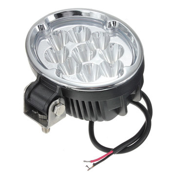 27W 9LED Spot work Lamp Light Off Roads For Trailer Off Road Boat