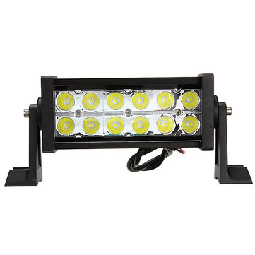 36W Spot LED Light Bar Work Lamp Off Road Trailer Truck 4WD 12/24V
