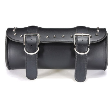 Motorcycle Scooter Tool Bag Saddle Bag Leather Storage