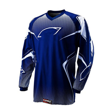 Motorcycle Racing Off Road Jacket Jersey Shirt Vest for Oreal Blue