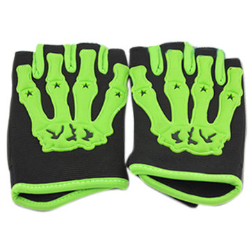 Half Finger Safety Bike Motorcycle Racing Gloves for Pro-biker CE04B