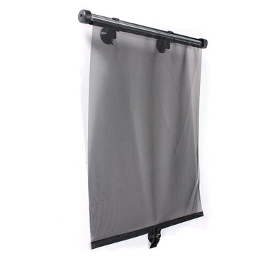 2x Car Side Window Sunshade Visor Roller Blind Screen Protector