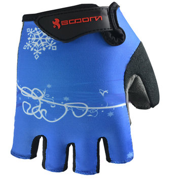 Half Finger Safety Bicycle Motorcycle Racing Gloves for Boodun
