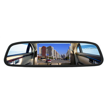 4.3 Inch TFT Car LCD Rear View Rear View DVD Mirror Monitor