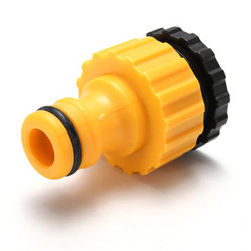 Expert Threaded Plastic Tap Adaptor Car Hose Pipe Connector Fitting