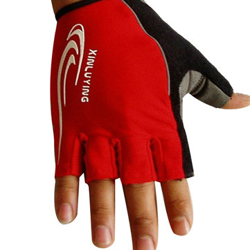 Fitness Gloves Bicycle Riding Antiskid Half Finger Gloves