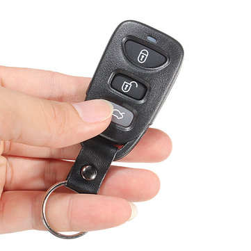 3 Buttons 1 Panic Remote Key Shell for HYUNDAI Elantra Sonata Fe