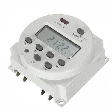 DC 12V Mini LCD Digital Microcomputer Control Power Timer Switch