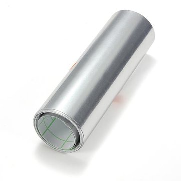 15 x 152cm Auto Sticker Silver Chrome Wrapping Vinyl 5.9