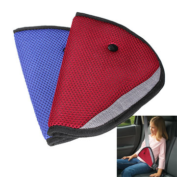 Car Child Safety Cover Harness Strap Adjuster Kids Seat Belt Clip