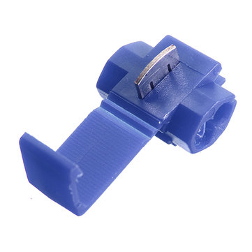 50x Blue Scotch Lock Quick Splice 22-18AWG Wire Connector