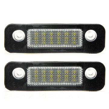 2x 12V 18LEDs License Number Plate Lamps Light for Ford Mondeo MK2