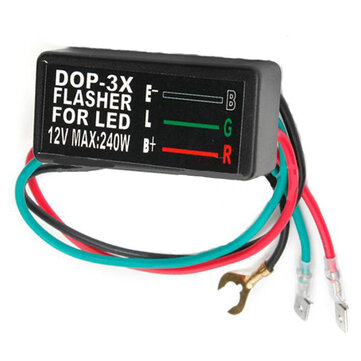 12V Universal Motorcycle Turn Signal Indicator Flasher Blinker Relay