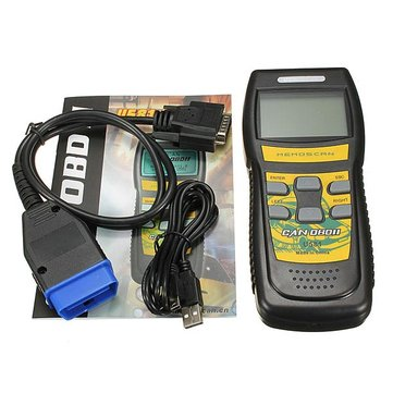 U581 CAN OBDII Auto Diagnostic Tool Scanner Code Reader 15 Pins