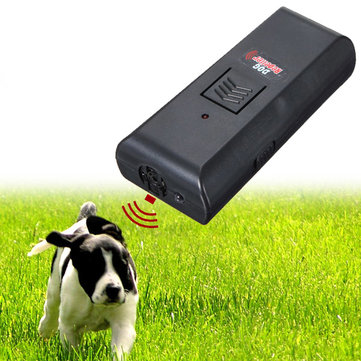 Ultrasonic Pet Dog Repeller Stop Barking Training Trainer