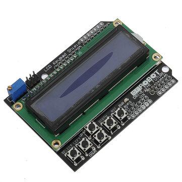 Scudo Tastiera Retroilluminazione Blu per Arduino Scheda Robot LCD 1602