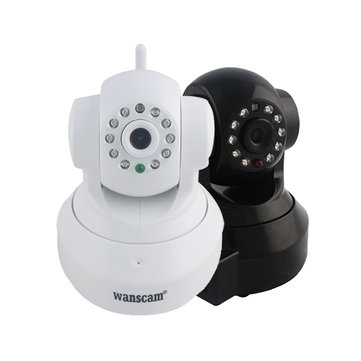 Wanscam HW0024 1.0 Mega px 720P HD Tf Card IR-Cut Security IP Camera