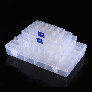 Geekcreit® 10 15 24 36 Value Electronic Components Storage Assortment Box