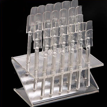32 Nail Art Clear Tips Display Practice Stand Tool Set