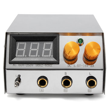 LCD Digital Dual Flat Tattoo Power Supply