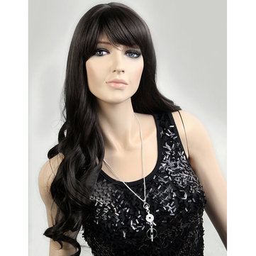 Dark Brown Curly Wig Popular Hairstyle