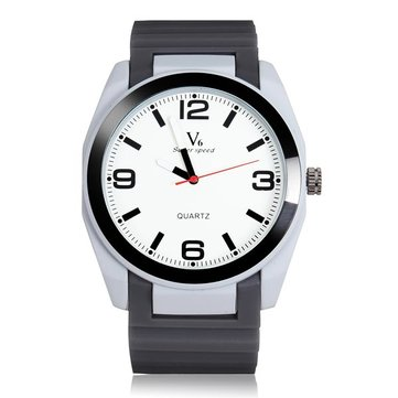 Fashion V6 Big Dial Super Speed V0107 Men Quartz Wrist Watch
