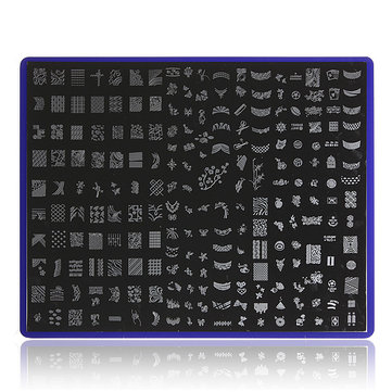 Nail Art Image Stamp Plates Polish Stamping Template Stencil DIY