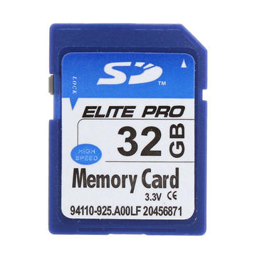 ELITE PRO SD Card Memory Card 32GB For MP4 Camera PC GPS ETC