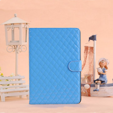 Rhombus Flip Leather Case With Intelligent Magnet For iPad Mini 1 2 3