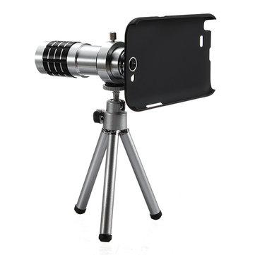12X Zoom Lens Tripod Camera Telescope For Samsung Galaxy Note 2 N7100