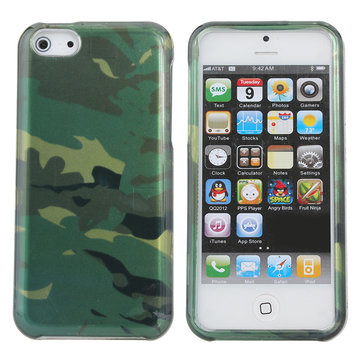 Cool Army Camouflage Pattern Hard Back Case For iPhone 5C