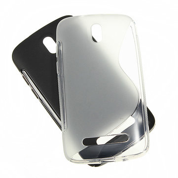 S-line Silicone Protective Soft Case For HTC Desire 500