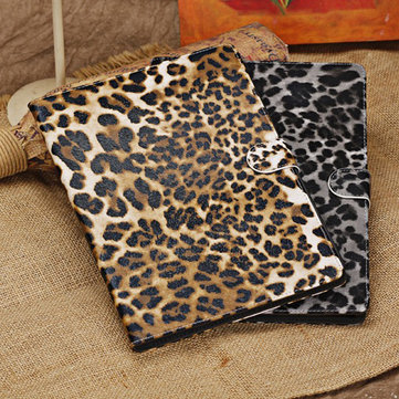 Fashion Leopard Pattern Design PU Stand Case Cover For iPhone Air