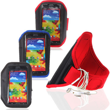 Running Sports Gym Armband Pouch Case For Samsung Galaxy Note 3 N9000