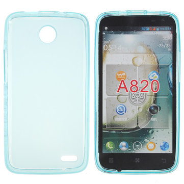 TPU Gel Silicone Soft Case For For Lenovo A820 Smartphone