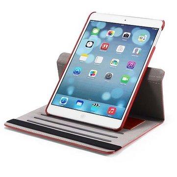 Crazy Horse Grain Pattern Rotation PU Leren Case Cover voor iPad Air