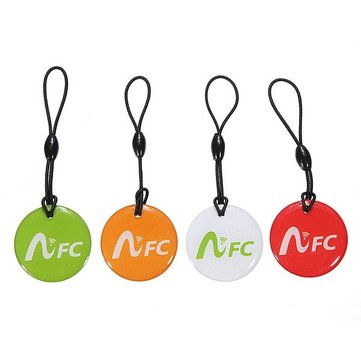 Smart NFC Tag Keyfbobs Android label Keychain For Mobilephones