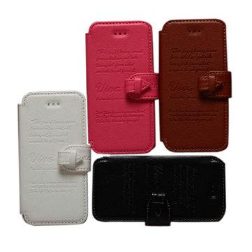 Stile vintage KLD copertura della cassa del supporto di cuoio dell'unità di elaborazione per il iphone 4 4s