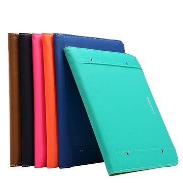 KLD Multifunctionele PU Leather Wallet Case Cover voor iPad Air