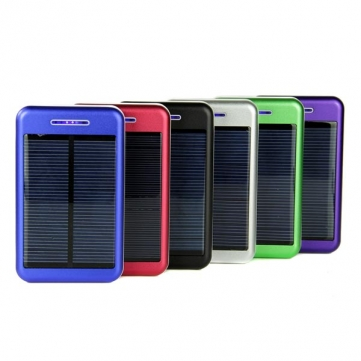 13800mAh Solar Charger Battery Power Bank For iPhone Smartphone