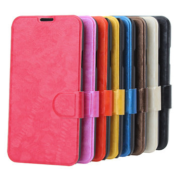 Shining Colorful Flip PU Leather Protective Case For Samsung Galaxy S5