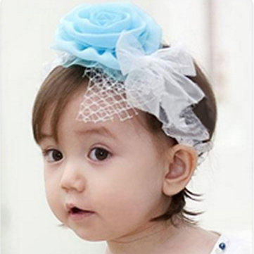 Baby Chiffon Flower Baby Headbrand Princess Baby Hair Headdress