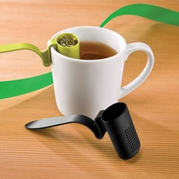 Creative Cute Cup Edge Tea Strainers Filter
