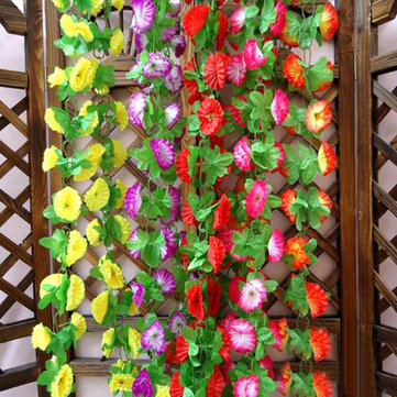 1 String Simulation Artificial Flower Arch Wall Wedding Decoration