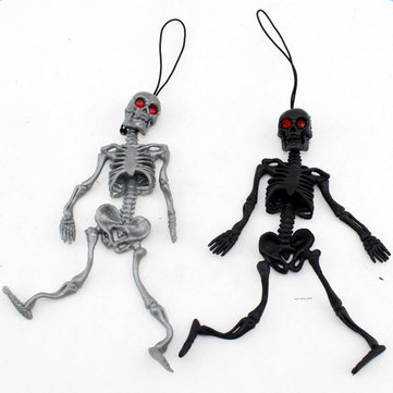 Halloween Trick Toys Hang Simulation Little Human Skeleton.