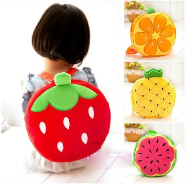 Baby Schoolbag Fresh Fruit Backpack Child Kindergarten