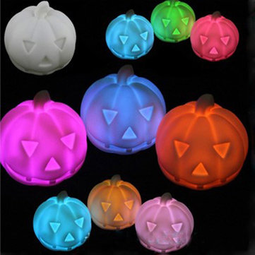Halloween Small Colorful Night Pumpkin Lamp